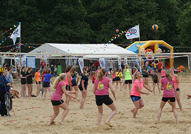 Beachvolleybal Heerderstrand