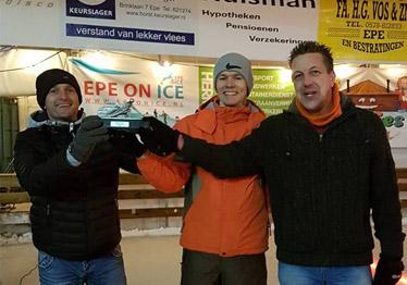 Winnaars curlingavond