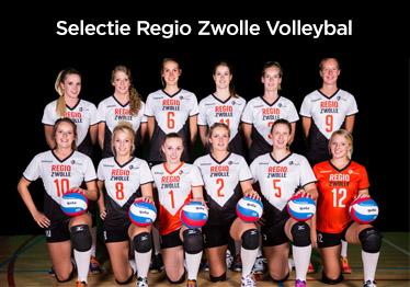 Clinic en krachtmeting Regio Zwolle Volleybal